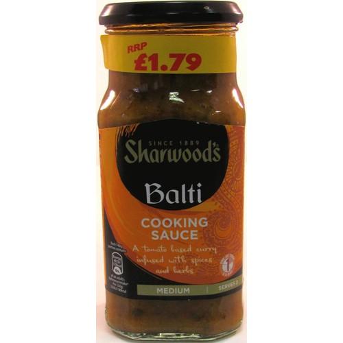 Sharwood's Balti Medium Curry Sauce 420g
