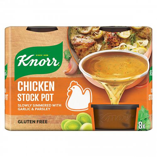 Knorr Chicken Stock Pot 8 x 28g