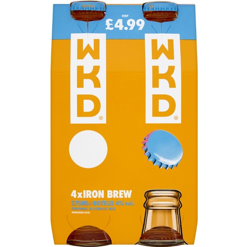 WKD Iron Brew 4 x 275ml