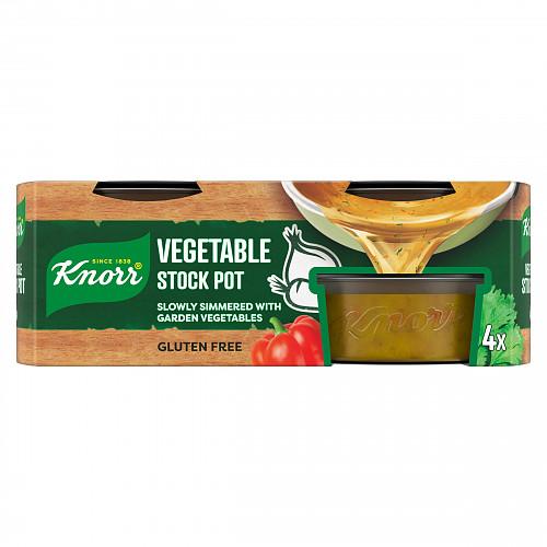 Knorr Vegetable Stock Pot 4 x 28 g