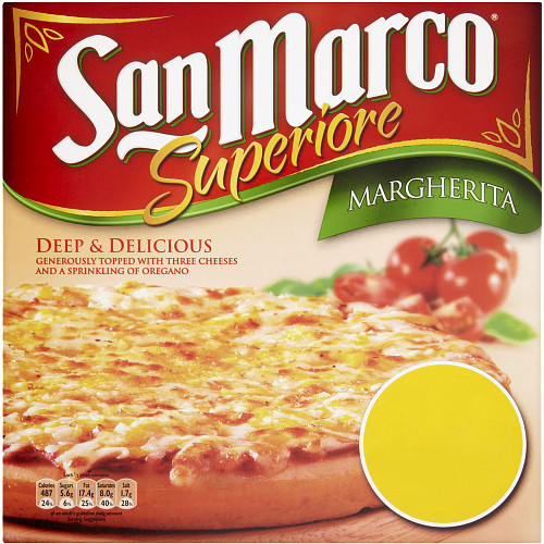 San Marco Superiore Deep & Delicious Margherita Pizza 405g