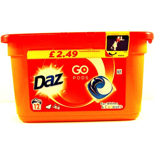 Daz GO Pods Washing Capsules 12 Washes