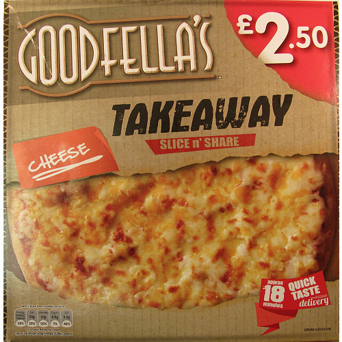 Goodfella's Takeaway Slice n' Share The Big Cheese 423g