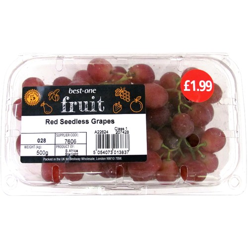 Bestone Red/Black Grapes PM £1.99