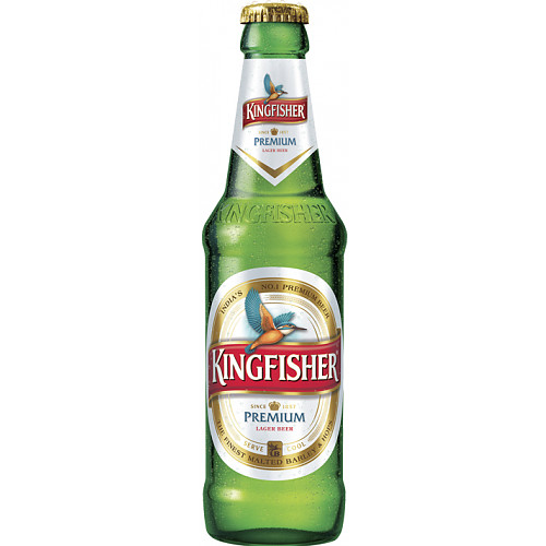 Kingfisher Premium Lager Beer 330ml