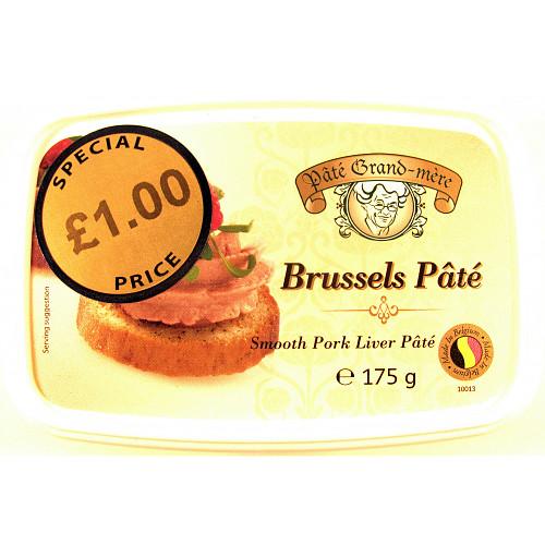 Pâté Grand-mère Brussels Pâté 175g