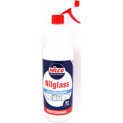 Nilco Nilglass Professional Glass & Mirror Cleaner 1 Litre