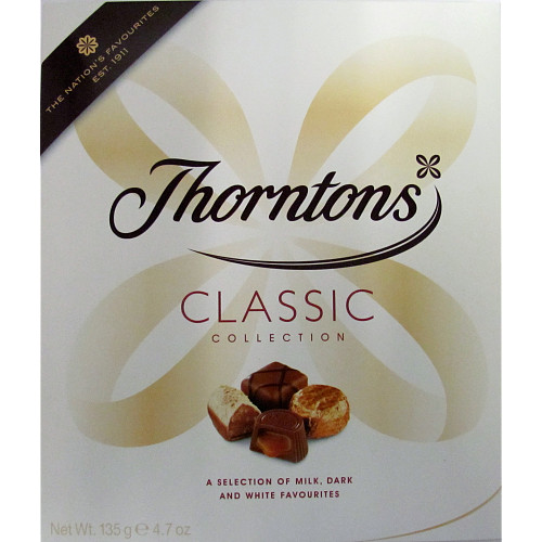 Thorntons Classic Collection Chocolate Box 123g