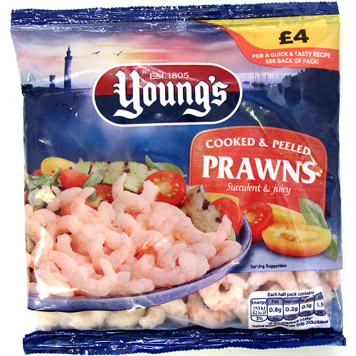 Young's Cooked & Peeled Prawns 180g