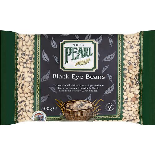 White Pearl Black Eye Beans 500g