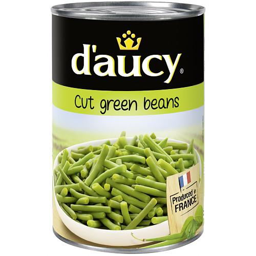 D'Aucy Cut Green Beans 400g