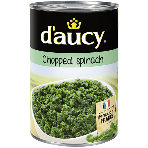 D'Aucy Chopped Spinach 395g