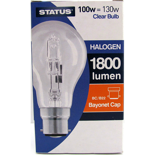 Status Halogen Bulb Clear Bc