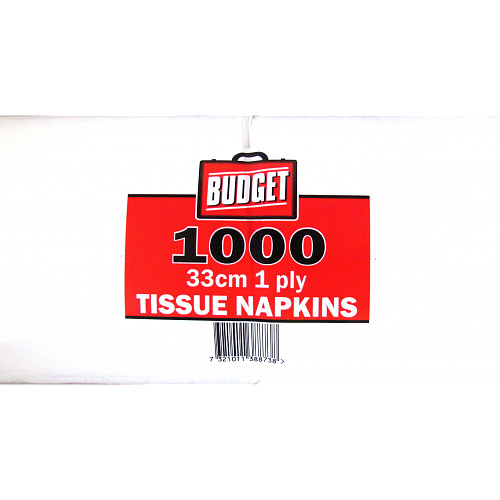 Budget Napkins 1ply