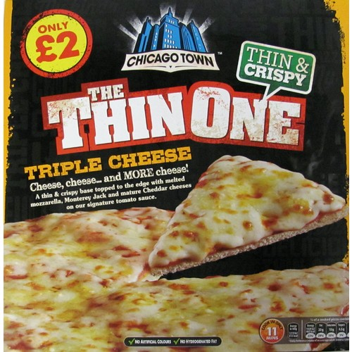 Chicago Town The Thin One Cheese £2.00