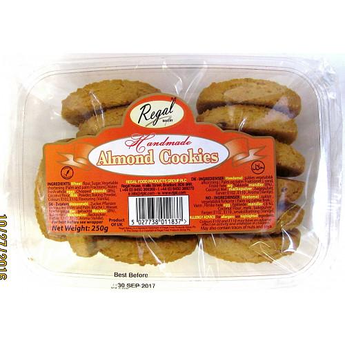 Regal Bakery Handmade Almond Cookies 250g