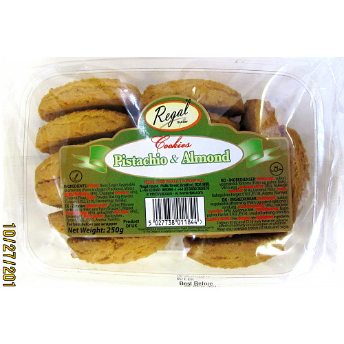 Regal Bakery Pistachio & Almond Cookies 250g