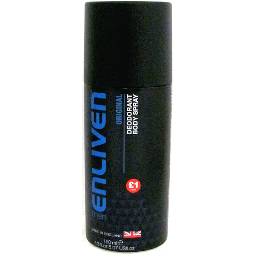 Enliven Men Anti Deodrant Spray Original PM £1