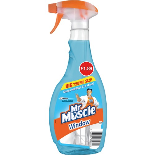 Mr Muscle Advanced Power Window PM £1.89