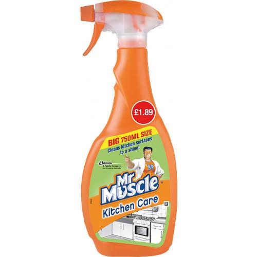 Mr Muscle Advanced Power Kitchen Spray 750ml