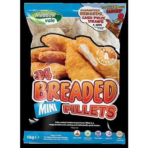 Meadowvale Breaded Chicken Goujons
