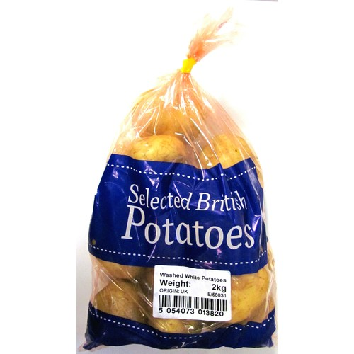 Best One Washed White Potatoes