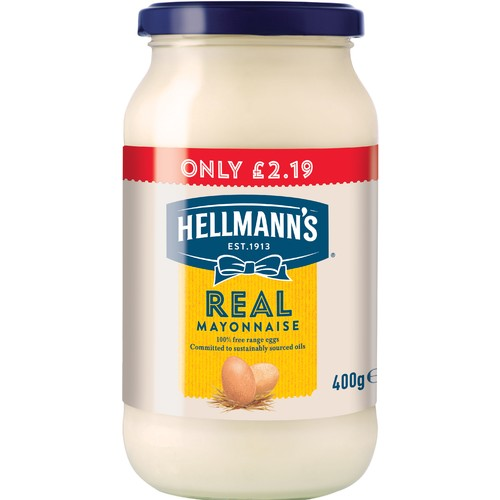 Hellmanns Real Mayonnaise PM £2.19