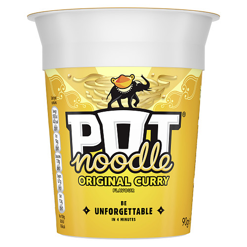 Pot Noodle Original Curry Standard Pot 90 g