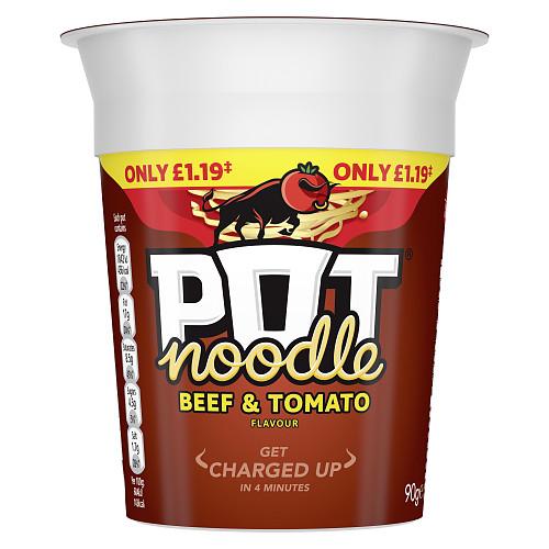 Pot Noodle Beef & Tomato PM £1.19