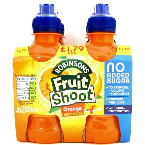 Fruitshoot Orange 4 Pack PM £1.79