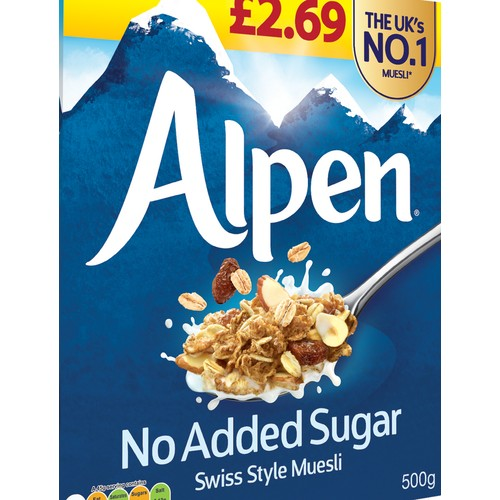 Alpen No Added Sugar PM £2.69