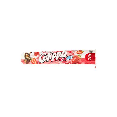 Calippo Combo Vanilla and Strawberry Flavour Ice Lolly 105ml
