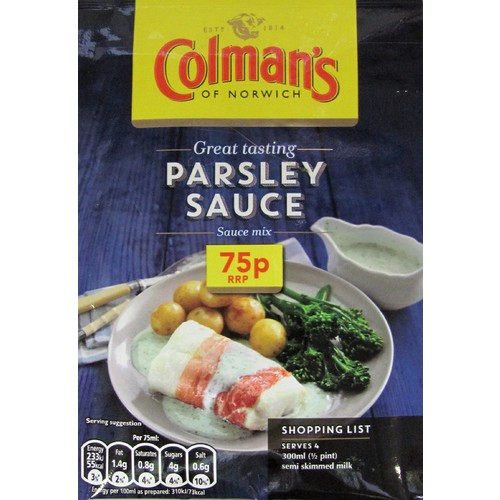 Colmans Sauce Pour Over Parsley PM 75p