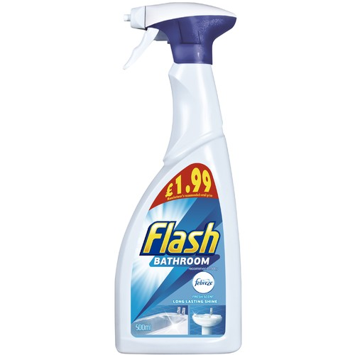 Flash Spray Bathroom PM £1.99