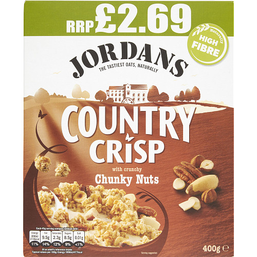 Jordan Country Crisp Chunky Nut PM £2.69