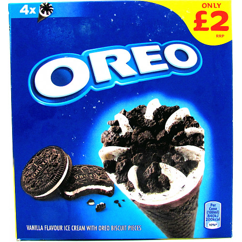 Oreo Cone Multipack PM £2