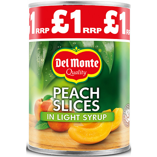 Del Monte Peach Slices In Light Syrup PM £1.09