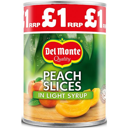 Del Monte Peach Slices In Light Syrup PM £1.09