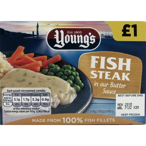 Youngs Fish In Butter PM £1