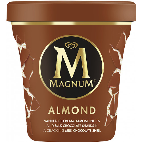 Magnum Tub Almond Ice Cream 440ml