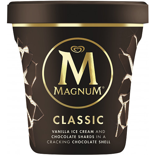 Magnum Tub Classic Ice Cream 440ml