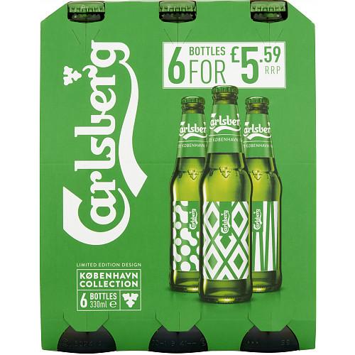 Carlsberg Lager 6 x 330ml