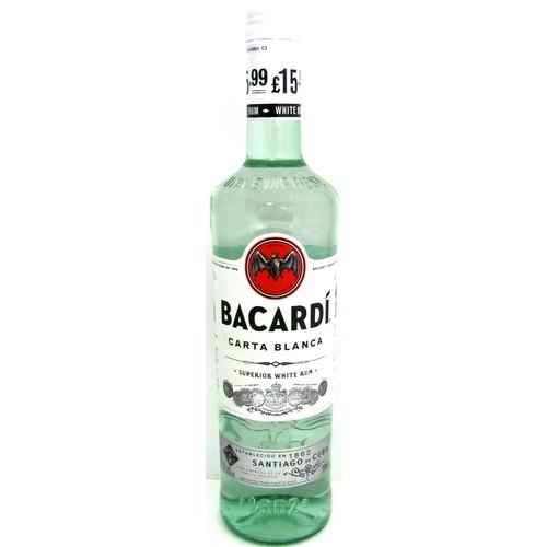 Bacardi Carta Blanca PM £15.99