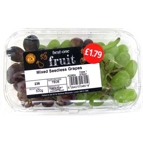 Bestone Mixed Grapes PM £1.79