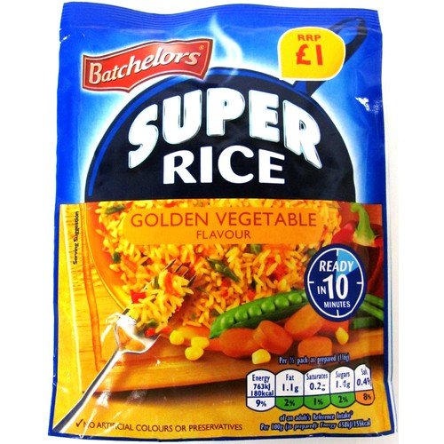 Batchelors Savoury Rice Golden PM £1