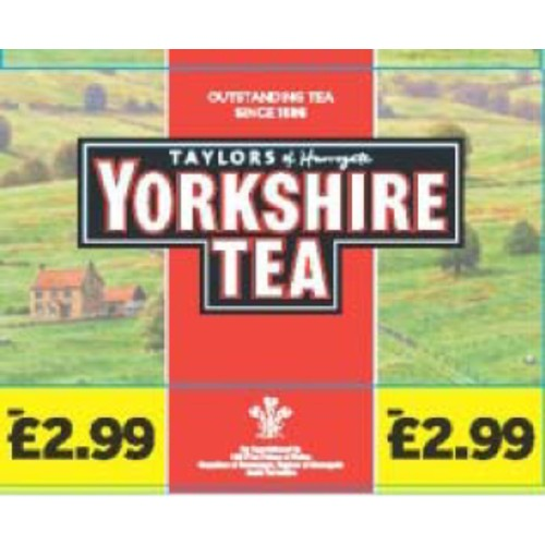 Yorkshire Tea Bags PM £2.99