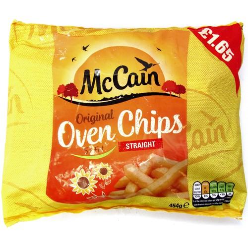McCain Original Oven Chips Straight 454g