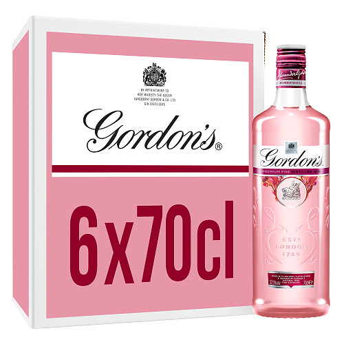 Gordon's Premium Pink Distilled Gin 70cl