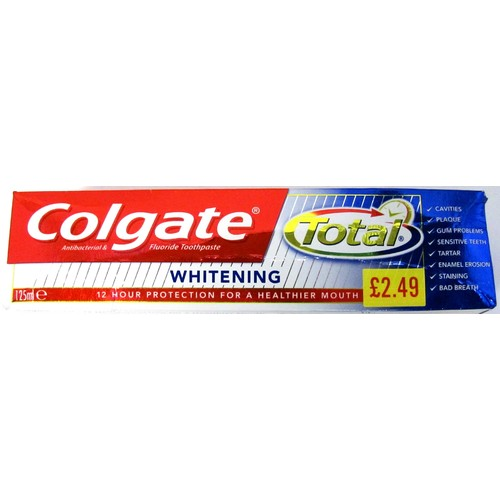 Colgate T/Paste Total Whitening PM £2.49