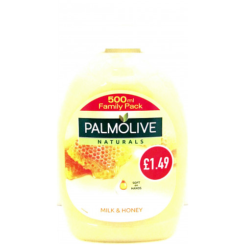Palmolive H/Wash Milk & Honey PM £1.49